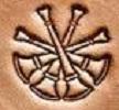 4 Crossed Bugle