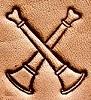 2 Crossed Bugle