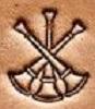 3 Crossed Bugle